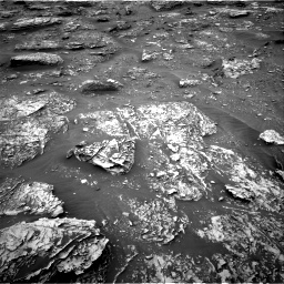 Nasa's Mars rover Curiosity acquired this image using its Right Navigation Camera on Sol 2086, at drive 18, site number 71