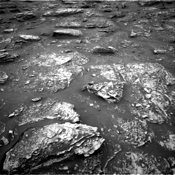 Nasa's Mars rover Curiosity acquired this image using its Right Navigation Camera on Sol 2086, at drive 24, site number 71