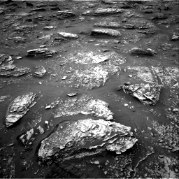 Nasa's Mars rover Curiosity acquired this image using its Right Navigation Camera on Sol 2086, at drive 30, site number 71