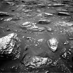 Nasa's Mars rover Curiosity acquired this image using its Right Navigation Camera on Sol 2086, at drive 42, site number 71