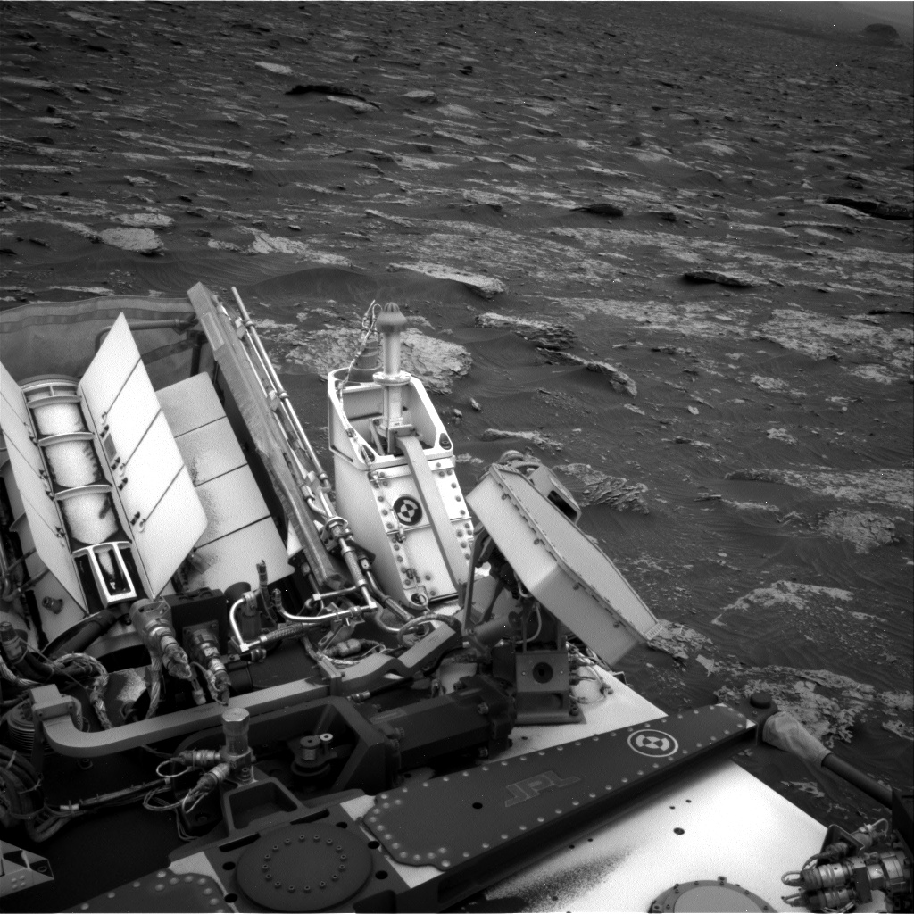 Nasa's Mars rover Curiosity acquired this image using its Right Navigation Camera on Sol 2086, at drive 60, site number 71