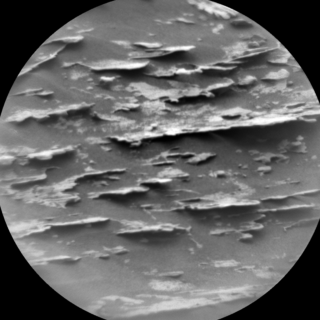Nasa's Mars rover Curiosity acquired this image using its Chemistry & Camera (ChemCam) on Sol 2086, at drive 0, site number 71
