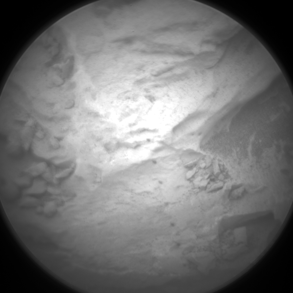 Nasa's Mars rover Curiosity acquired this image using its Chemistry & Camera (ChemCam) on Sol 2087, at drive 60, site number 71