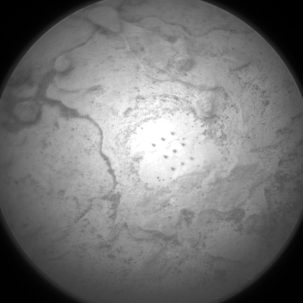 Nasa's Mars rover Curiosity acquired this image using its Chemistry & Camera (ChemCam) on Sol 2087, at drive 66, site number 71