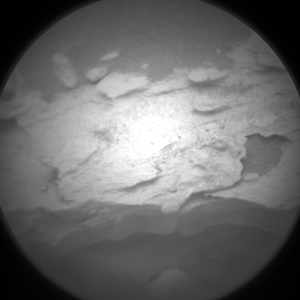 Nasa's Mars rover Curiosity acquired this image using its Chemistry & Camera (ChemCam) on Sol 2088, at drive 66, site number 71