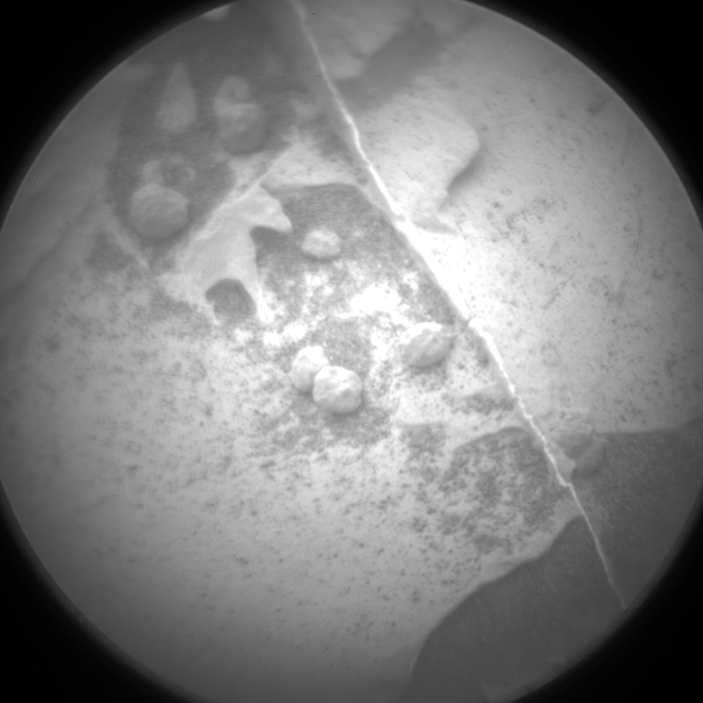 Nasa's Mars rover Curiosity acquired this image using its Chemistry & Camera (ChemCam) on Sol 2089, at drive 228, site number 71