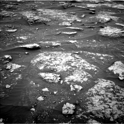 Nasa's Mars rover Curiosity acquired this image using its Left Navigation Camera on Sol 2089, at drive 132, site number 71