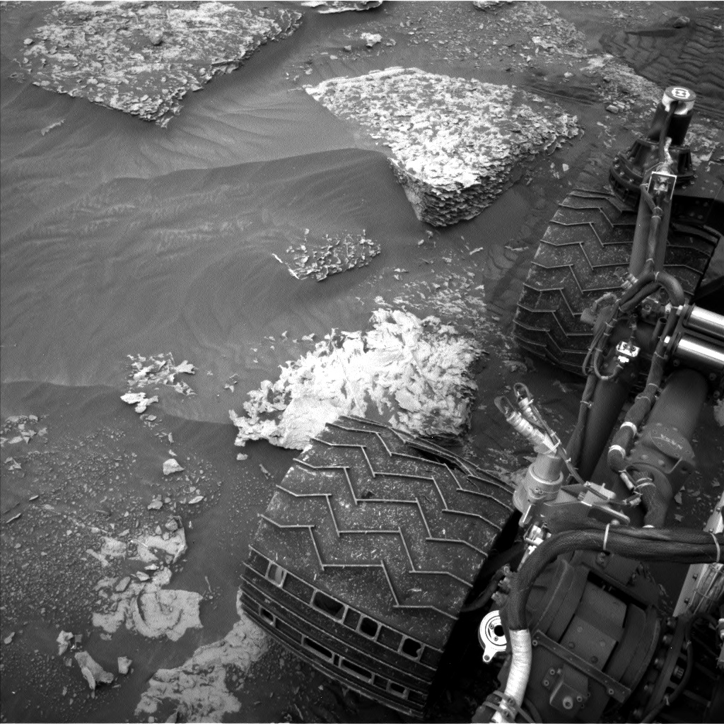 Nasa's Mars rover Curiosity acquired this image using its Left Navigation Camera on Sol 2089, at drive 228, site number 71