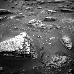 Nasa's Mars rover Curiosity acquired this image using its Right Navigation Camera on Sol 2089, at drive 72, site number 71