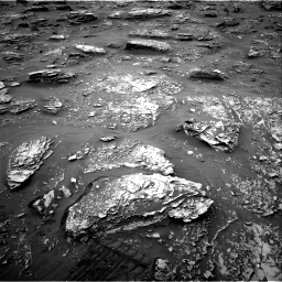 Nasa's Mars rover Curiosity acquired this image using its Right Navigation Camera on Sol 2089, at drive 84, site number 71