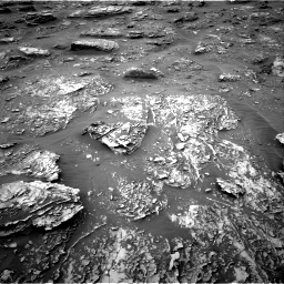 Nasa's Mars rover Curiosity acquired this image using its Right Navigation Camera on Sol 2089, at drive 90, site number 71