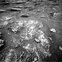 Nasa's Mars rover Curiosity acquired this image using its Right Navigation Camera on Sol 2089, at drive 96, site number 71