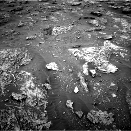 Nasa's Mars rover Curiosity acquired this image using its Right Navigation Camera on Sol 2089, at drive 102, site number 71