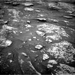 Nasa's Mars rover Curiosity acquired this image using its Right Navigation Camera on Sol 2089, at drive 114, site number 71