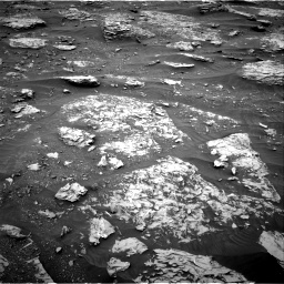 Nasa's Mars rover Curiosity acquired this image using its Right Navigation Camera on Sol 2089, at drive 120, site number 71