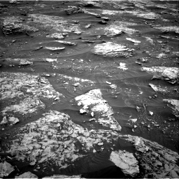 Nasa's Mars rover Curiosity acquired this image using its Right Navigation Camera on Sol 2089, at drive 126, site number 71