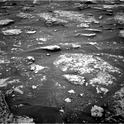 Nasa's Mars rover Curiosity acquired this image using its Right Navigation Camera on Sol 2089, at drive 138, site number 71