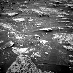 Nasa's Mars rover Curiosity acquired this image using its Right Navigation Camera on Sol 2089, at drive 144, site number 71