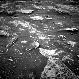 Nasa's Mars rover Curiosity acquired this image using its Right Navigation Camera on Sol 2089, at drive 150, site number 71