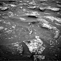 Nasa's Mars rover Curiosity acquired this image using its Right Navigation Camera on Sol 2089, at drive 168, site number 71