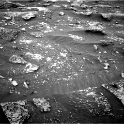 Nasa's Mars rover Curiosity acquired this image using its Right Navigation Camera on Sol 2089, at drive 174, site number 71