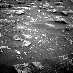 Nasa's Mars rover Curiosity acquired this image using its Right Navigation Camera on Sol 2089, at drive 180, site number 71