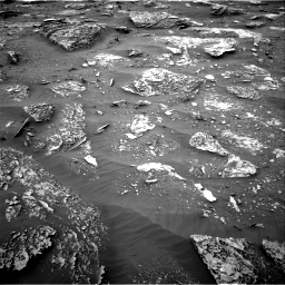 Nasa's Mars rover Curiosity acquired this image using its Right Navigation Camera on Sol 2089, at drive 192, site number 71