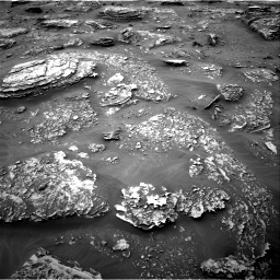 Nasa's Mars rover Curiosity acquired this image using its Right Navigation Camera on Sol 2089, at drive 204, site number 71