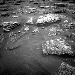 Nasa's Mars rover Curiosity acquired this image using its Right Navigation Camera on Sol 2089, at drive 216, site number 71
