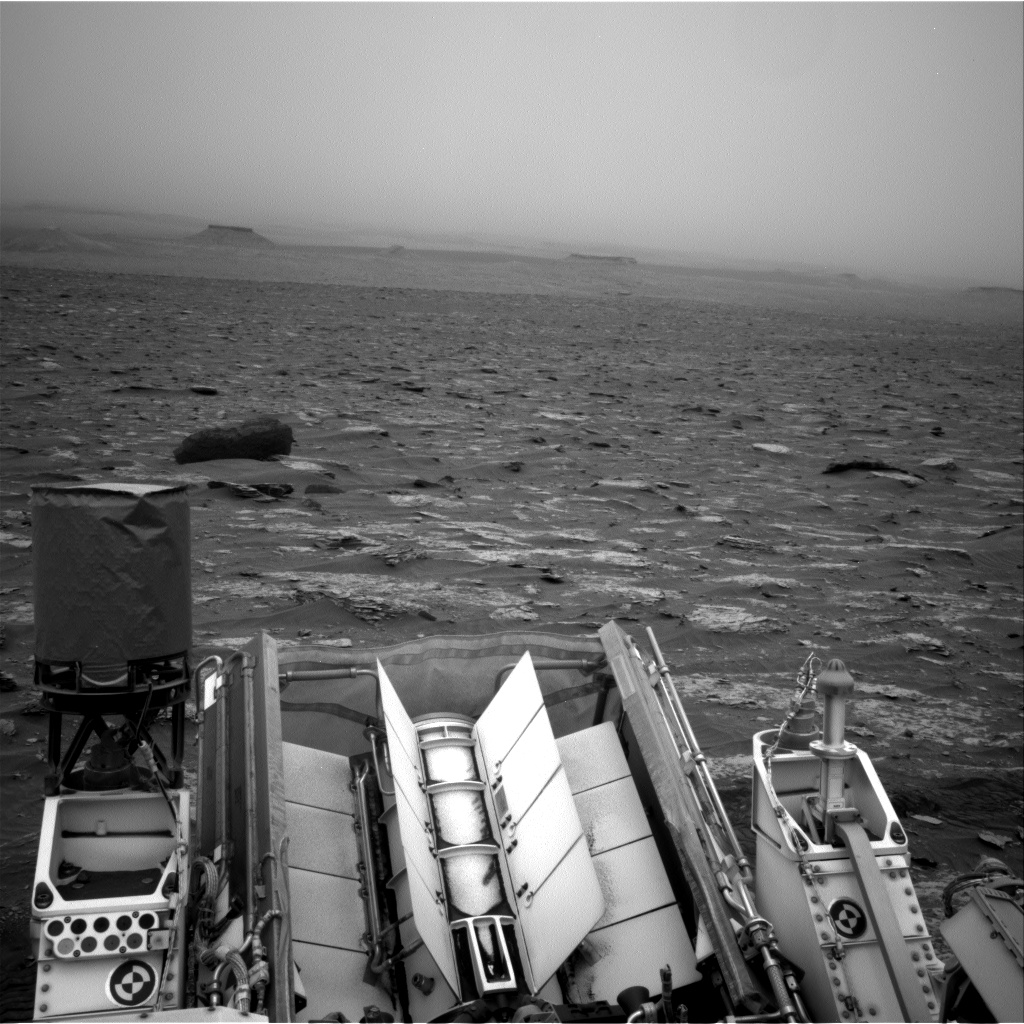 Nasa's Mars rover Curiosity acquired this image using its Right Navigation Camera on Sol 2089, at drive 228, site number 71