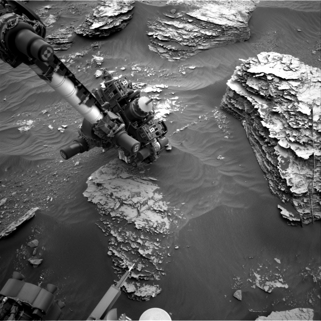 Nasa's Mars rover Curiosity acquired this image using its Right Navigation Camera on Sol 2091, at drive 228, site number 71