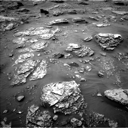 Nasa's Mars rover Curiosity acquired this image using its Left Navigation Camera on Sol 2092, at drive 234, site number 71