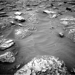 Nasa's Mars rover Curiosity acquired this image using its Left Navigation Camera on Sol 2092, at drive 264, site number 71