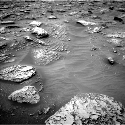 Nasa's Mars rover Curiosity acquired this image using its Left Navigation Camera on Sol 2092, at drive 270, site number 71