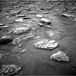 Nasa's Mars rover Curiosity acquired this image using its Left Navigation Camera on Sol 2092, at drive 282, site number 71