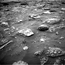 Nasa's Mars rover Curiosity acquired this image using its Left Navigation Camera on Sol 2092, at drive 300, site number 71