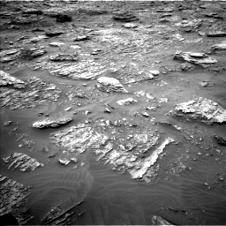 Nasa's Mars rover Curiosity acquired this image using its Left Navigation Camera on Sol 2092, at drive 312, site number 71