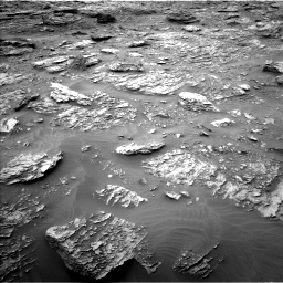 Nasa's Mars rover Curiosity acquired this image using its Left Navigation Camera on Sol 2092, at drive 318, site number 71