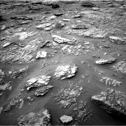 Nasa's Mars rover Curiosity acquired this image using its Left Navigation Camera on Sol 2092, at drive 330, site number 71