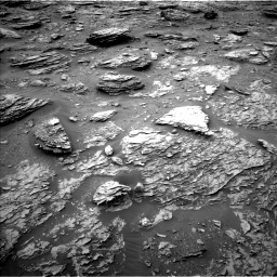 Nasa's Mars rover Curiosity acquired this image using its Left Navigation Camera on Sol 2092, at drive 348, site number 71