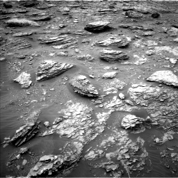 Nasa's Mars rover Curiosity acquired this image using its Left Navigation Camera on Sol 2092, at drive 360, site number 71