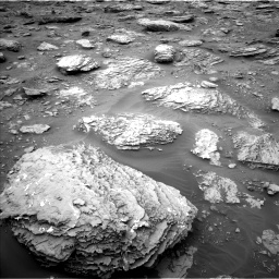 Nasa's Mars rover Curiosity acquired this image using its Left Navigation Camera on Sol 2092, at drive 390, site number 71