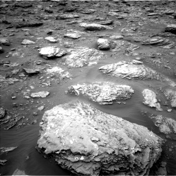 Nasa's Mars rover Curiosity acquired this image using its Left Navigation Camera on Sol 2092, at drive 402, site number 71