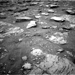 Nasa's Mars rover Curiosity acquired this image using its Left Navigation Camera on Sol 2092, at drive 456, site number 71