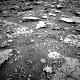 Nasa's Mars rover Curiosity acquired this image using its Left Navigation Camera on Sol 2092, at drive 462, site number 71