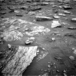 Nasa's Mars rover Curiosity acquired this image using its Left Navigation Camera on Sol 2092, at drive 468, site number 71