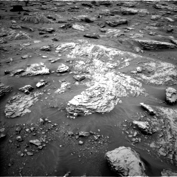 Nasa's Mars rover Curiosity acquired this image using its Left Navigation Camera on Sol 2092, at drive 486, site number 71