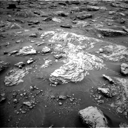 Nasa's Mars rover Curiosity acquired this image using its Left Navigation Camera on Sol 2092, at drive 492, site number 71