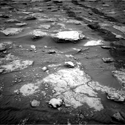 Nasa's Mars rover Curiosity acquired this image using its Left Navigation Camera on Sol 2092, at drive 522, site number 71