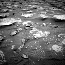 Nasa's Mars rover Curiosity acquired this image using its Left Navigation Camera on Sol 2092, at drive 534, site number 71
